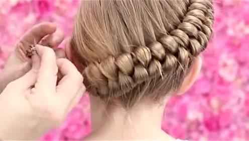 个性不松散的儿童盘发发型请这样扎,妈妈们喜欢吗