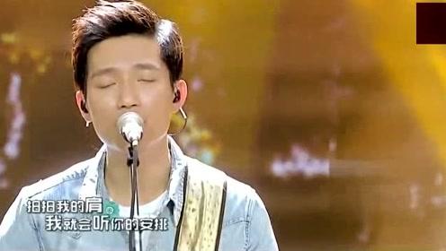 陈楚生带专业乐队现场精彩演绎《野花》,这歌喉配上曲调,太好听