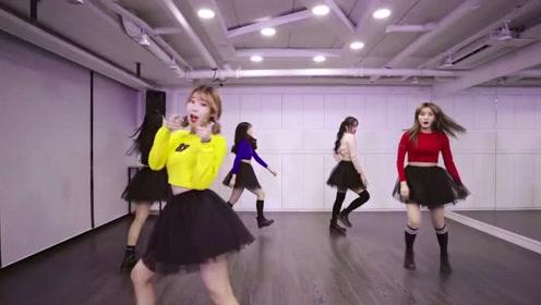 5个22岁广东女孩跳韩国热舞Bboom,编舞的确太牛,跳出了女神的气质