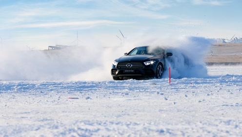 奔驰冰雪试驾