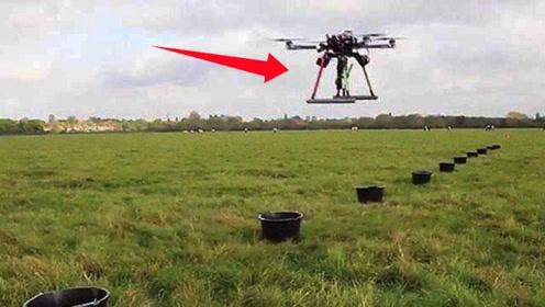 创福新项目,无人机替代人力种树,一天能种植十万棵树