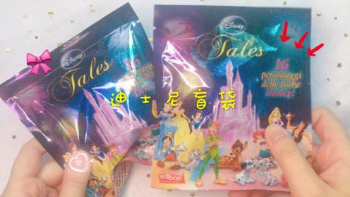 试玩迪士尼梦幻盲袋,少女心满满的卡通盲袋,收获公主和猫咪