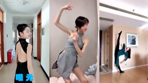 芭蕾舞美女太撩人,网友:这么好看的背,不去拔罐可惜了!