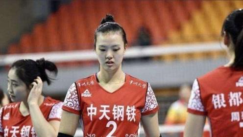 中国女排频出问题,张常宁脸色苍白难直腰,疑复出无望