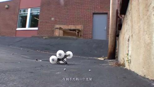 国外跳跃机器人,能接收到3公里内的信号,用于野外搜索或救援