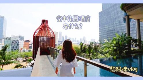 熙妈咪vlog:明星网红疯狂打卡,新加坡绿洲花园