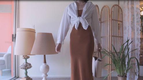 吊带裙的夏天,给你无与伦比的美丽