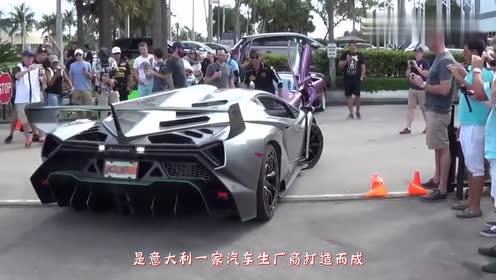 400万的兰博基尼跟玩具车赛跑,开始的瞬间,怀疑买了辆假车
