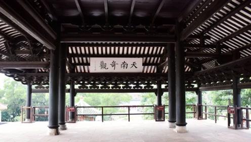 """中国""""最牛""""古建筑,四根巨柱悬空446年,5次地震仍完好无损"""