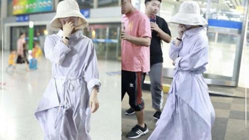 赵丽颖现身机场,谁注意到她衣服的价格?网友:活该你红