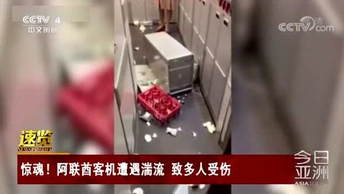 惊魂!阿联酋客机遭遇湍流 致多人受伤