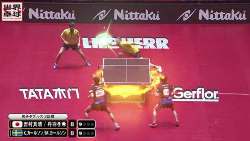 异世界的超绝乒乓球!东京电视台中二乒乓球视频引疯狂热议