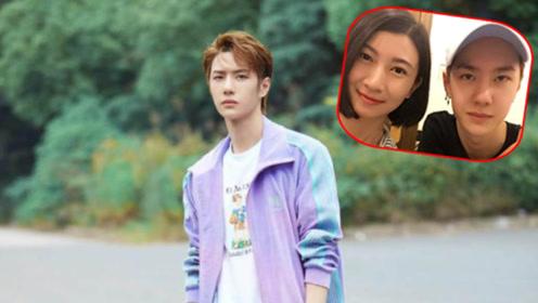以为刘昊然跟姐姐撞脸,看到王一博姐弟合照,才懂什么叫基因强大