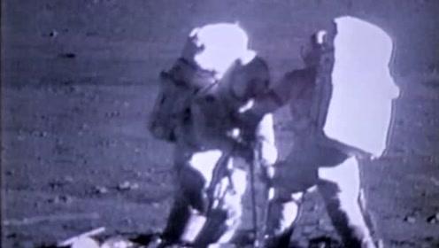 登月50周年,NASA首次公开月球宇航员珍贵视频,原来他们在月球