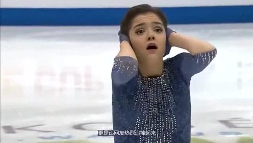 俄罗斯最年轻滑冰女王,笑起来的眼睛会说话,天使容颜让人醉