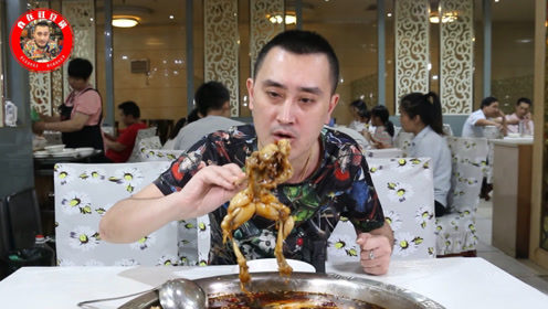 重庆地道美蛙鱼头火锅,大号美蛙炖非洲鲫鱼,几十种酒水饮料免费
