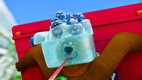 炎炎夏日,鼹鼠和大熊争抢冰箱使用权,最后是谁得到了呢!