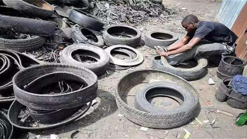 """非洲小伙变废为宝,从中国进口大量""""垃圾"""",从此发家致富"""
