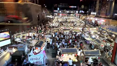 大磊拍摄的开封鼓楼夜市美食宣传片,欢迎大家来我的家乡游玩!