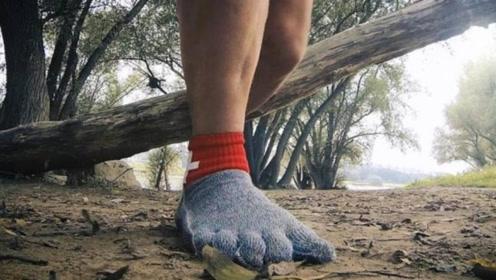 最神奇的袜子,强度是钢铁的15倍,穿上它还要什么鞋子