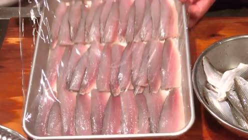 下饭的美食,小鱼儿刺身!快来膜拜