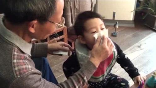 孩子流鼻涕家长要重视,这种鼻涕会要了孩子的命