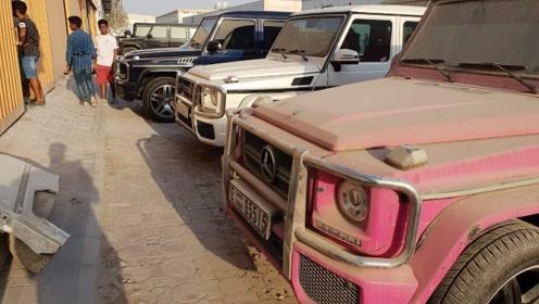 迪拜旧车场到底多豪华!小伙看中一辆劳斯莱斯,打开车门瞬间傻眼