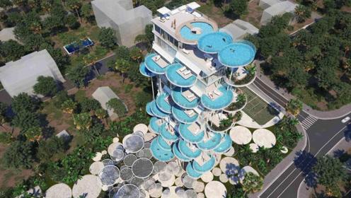 世界上最神奇的4个游泳池,第二个有钱都去不了!