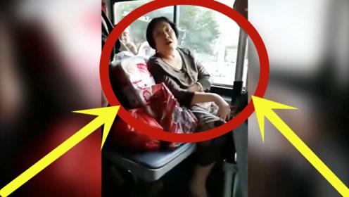 恶毒妇女倚老卖老!公交小伙忍无可忍,报应来的太快!