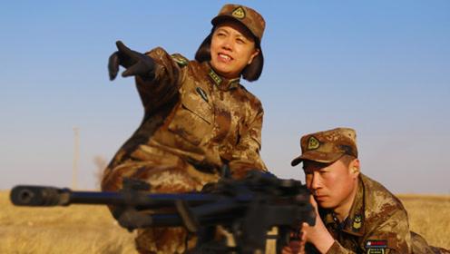 压制火器再添利器,解放军新型大口径机枪问世,测试猛照曝光