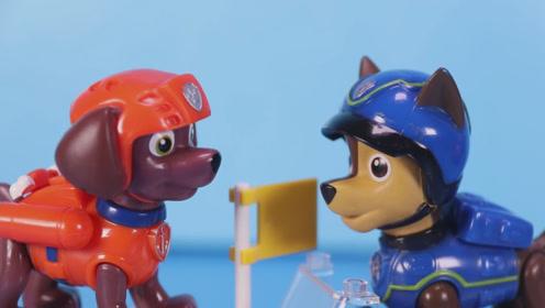 汪汪队在去海上救援的时候 船突然失灵了 这可怎么办 玩具故事