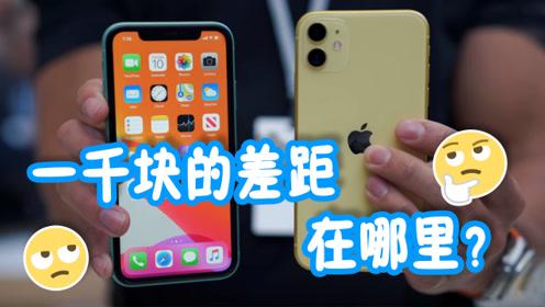 苹果11对比iPhoneXR,一千块的差距有多大?看完知道了