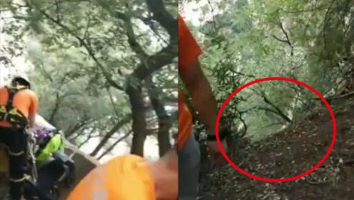 2游客在河南嵩山坠崖 救援人员:崖高有两百米,具体位置不祥
