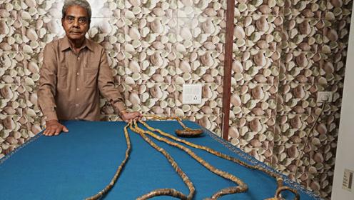 大爷把留了44年的指甲,捐献到博物馆,当指甲被剪后意外发生了
