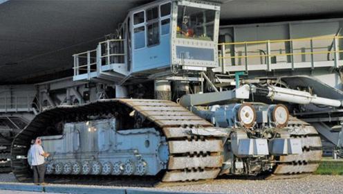 世界最大的履带式运输车,真正的怪物卡车,成功把宇航员送上月球