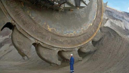 德古制造最大挖掘机,造价7个亿轻松挖掉一座大山,让人惊呼不已