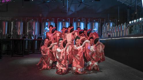 少女舞蹈家,穿和服,舞日本国花之美!