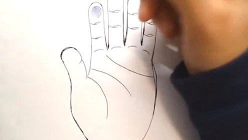 算命大师:手指上的斗和簸箕有什么说法,网友:财运不一样