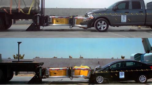 国外发明车载式防撞设备,危险品运输车装上它,被撞也没什么危险