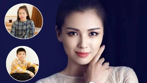 刘涛携儿女登杂志,儿子帅气酷似妈妈,女儿穿格子裙温柔似爸爸