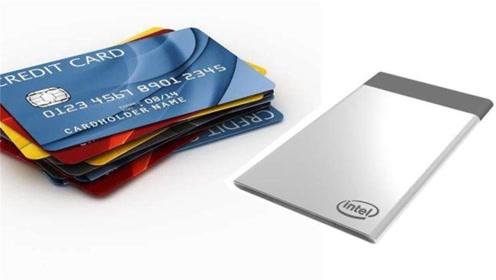 英特尓颠覆了我的想象,造比信用卡还小的电脑,可放在钱包里
