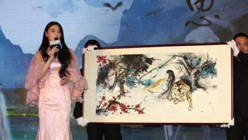 """人称""""国民女神画家"""",拍卖自己的画做慈善,画美人更美!"""