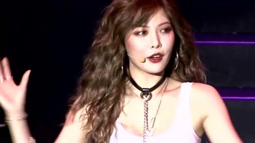 泫雅回应舞台上掀裙子:参加的是大学活动享受舞台才这样做
