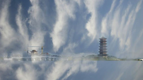 海市蜃楼出现秦朝时影像,真是只是折射现象?平行宇宙或将证实