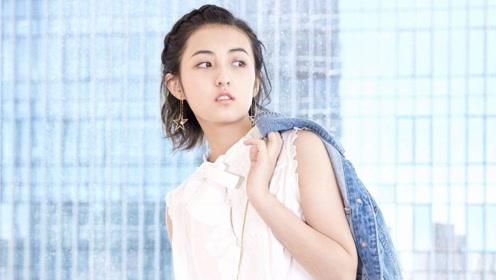 当提到彭昱畅结婚的事,张子枫表情亮了,网友:什么情况