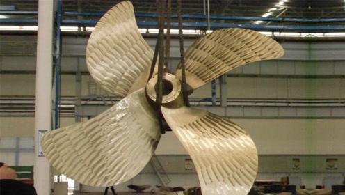 1450吨重大铁疙瘩,可造航母螺旋桨,堪称国宝级机械