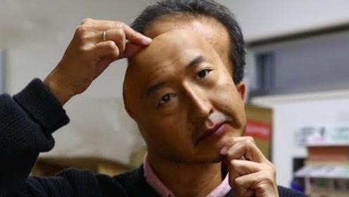 """日本推出高仿""""人皮面具"""",70岁老头秒变少女,看完细思极恐!"""