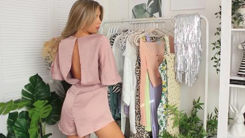 颜值高挑模特,随便一身简单的穿搭,能够惊艳众人