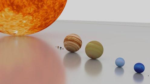 太阳究竟有多大?看完这组模拟画面,你就明白了!
