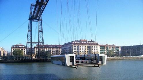 全球首座高空拉索桥,过个桥像在坐电梯,被划入世界遗产